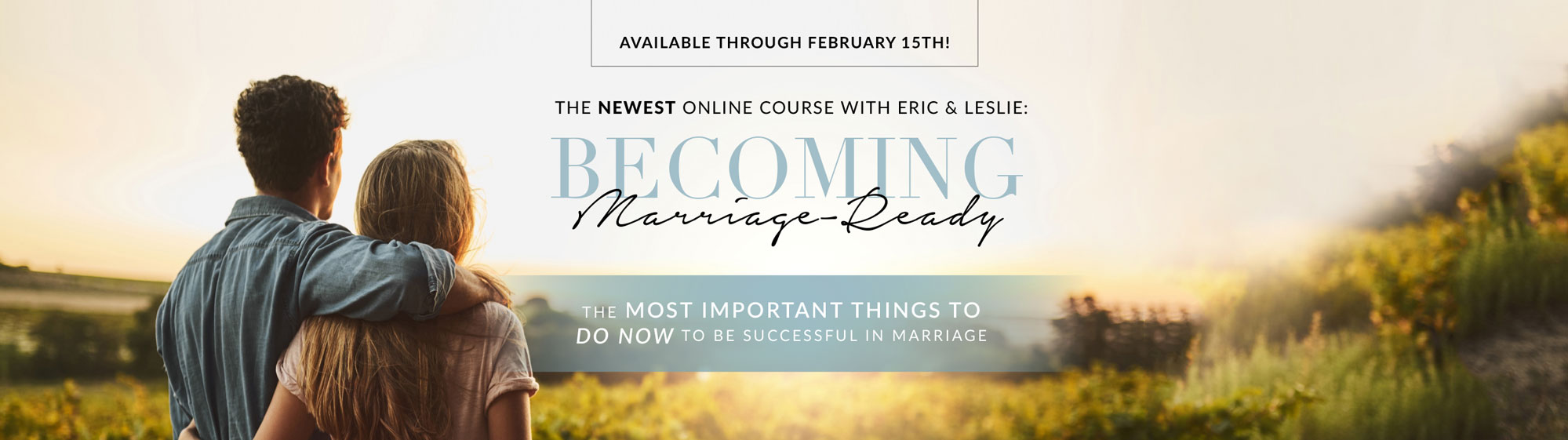 Becoming Marriage Ready