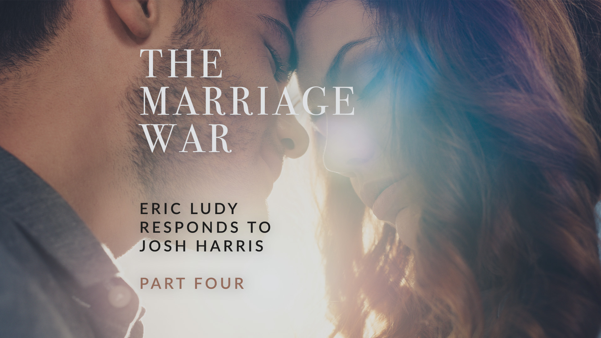 Eric Ludy believes Josh Harris' marriage was targeted